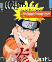 Naruto 01 theme screenshot