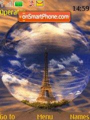 Paris theme screenshot