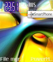 Скриншот темы Manish Passion