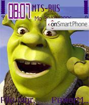 Shrek theme screenshot