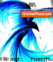 Blue Phoenix theme screenshot