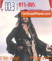 Pirates of the Caribbean 3 theme screenshot