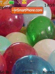 Colorful Balloons theme screenshot