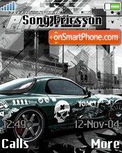 Nfs Pro Street 04 theme screenshot