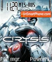 Crysis 05 es el tema de pantalla
