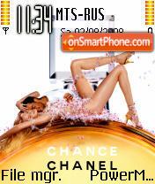 Chanel 01 es el tema de pantalla