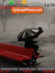 Wait u in Rain tema screenshot