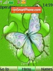 Butterfly Green theme screenshot