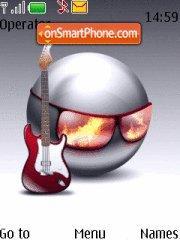 Rock N Roll theme screenshot