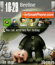 Derparia theme screenshot