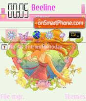 Enchanted theme screenshot