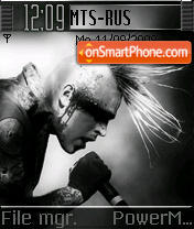 Combichrist theme screenshot