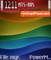 Colors Line theme screenshot