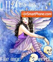 Fairy and skull es el tema de pantalla