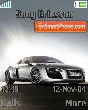 Audi R8 07 es el tema de pantalla