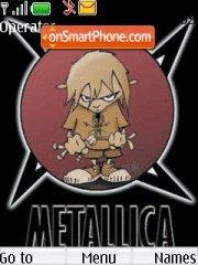 Metallica 08 theme screenshot