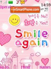 Smile Again 01 theme screenshot