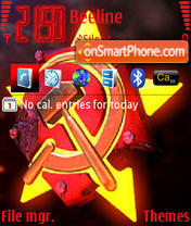 Red Alert Soviet theme screenshot