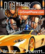 Slipknot 07 tema screenshot
