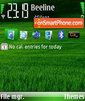Green Grass theme screenshot