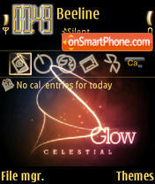 Celestial Glow theme screenshot