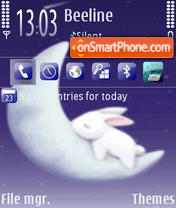 Bunny Dream theme screenshot
