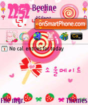 Lollipop theme screenshot
