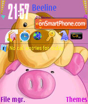 Pig theme screenshot