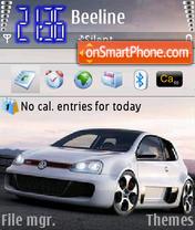 Vw Golf Gti W12 theme screenshot