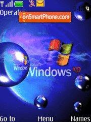 Windows XP Waves Theme-Screenshot