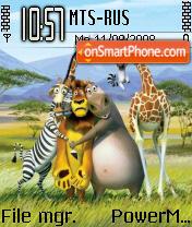 Madagascar 2 theme screenshot