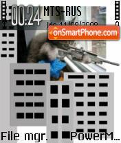 Sniper Cat1 theme screenshot