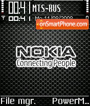 Nokia Grille tema screenshot