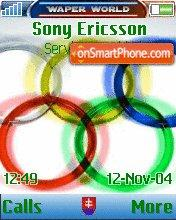 Olympic Games theme screenshot