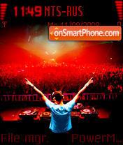 DJ Tiesto es el tema de pantalla