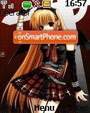 Anime theme screenshot