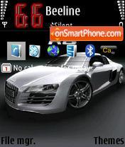 Audi R8 V3 theme screenshot