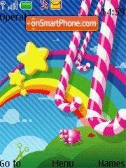 Rainbow Abstract theme screenshot