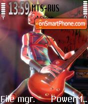 Guitar Hero es el tema de pantalla