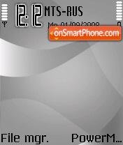 Silver Version theme screenshot