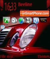 Скриншот темы Mercedes 3250