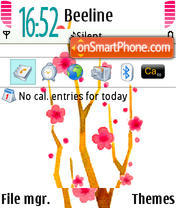 Blossom 03 theme screenshot
