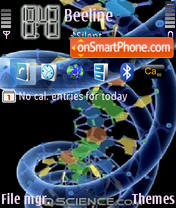 Dna theme screenshot