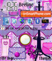Girlygirl Theme-Screenshot
