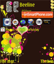 Yelloheart theme screenshot