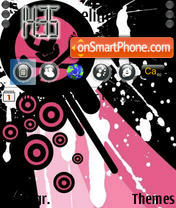 Pinkskull theme screenshot