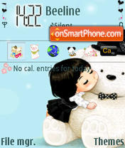 Cutebear theme screenshot
