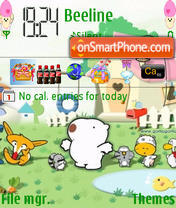 Gomu Gomu theme screenshot