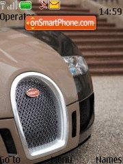 Bugatti Veron tema screenshot