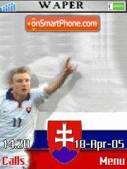 Slovak Football theme screenshot